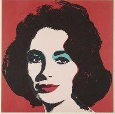 Liz by Andy Warhol.