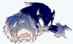 sonic the werehog howling Hedgehog Art, Sonic The Hedgehog, Sonic Unleashed, Sonic Funny, Werewolf Art, Sonic Franchise, Sonic Adventure, Sonic Fan Characters, Sonic Fan Art