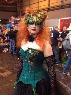 Jezebel de Ville nurtures her Poison Ivy ...