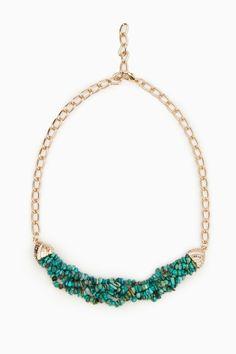 ShopSosie Style : Deep Turquoise Sea Necklace
