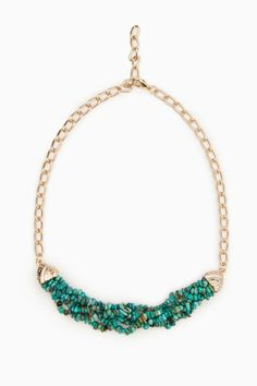 ShopSosie Style : Deep Turquoise Sea Necklace