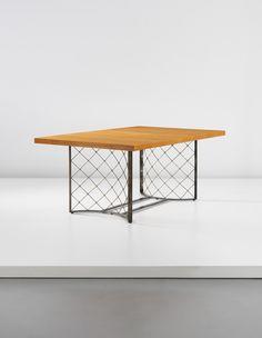 PHILLIPS : UK050114, Jean Royère, Important and unique 'Tour Eiffel' extendable dining table