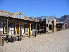 Looking at western scenery and how the buildings look also how they were built. research for my set design. The saloon is a particular bu. Western Saloon, Western Art, Old West Town, Old Town, Cowboy Town, Old Western Towns, Horse Trough, Building Front, West Village