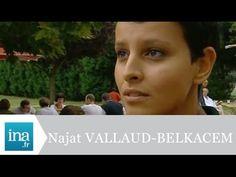 Politique - La 1ère télé de Najat Vallaud-Belkacem - Archive INA - http://pouvoirpolitique.com/la-1ere-tele-de-najat-vallaud-belkacem-archive-ina/