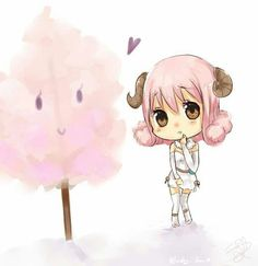 Fairy Tail - Aries and candy floss Fairy Tail Lucy, Fairy Tail Fotos, Image Fairy Tail, Fairy Tail Girls, Fairy Tail Ships, Fairy Tail Anime, Fairytail, Jellal, Gajeel Y Levy