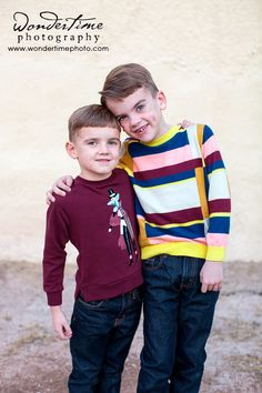 These are my two children and I can't believe how fast they are growing up! These were taken at our family photo session in downtown Tucson, Arizona. www.wondertimephoto.com