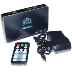 2D to 3D Video Converter Box Support 1080P 3D DLP Projector Media Processor Support HDMI 1 Out and 2 In For 3D TV Games12002170