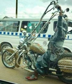 Cars Discover 45 Pics That Will Make You Say WTF is part of humor - Funny memes pics and much Cool Motorcycles Vintage Motorcycles Custom Harleys Custom Bikes Hd Fatboy Steampunk Motorcycle Bagger Motorcycle Motorcycle Museum Ape Hangers Steampunk Motorcycle, Motorcycle Museum, Bagger Motorcycle, Motorcycle Gloves, Custom Street Bikes, Custom Bikes, Cool Motorcycles, Vintage Motorcycles, Hd Fatboy