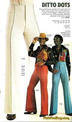 Plaid Stallions : Rambling and Reflections on '70s pop culture: fashion mockery
