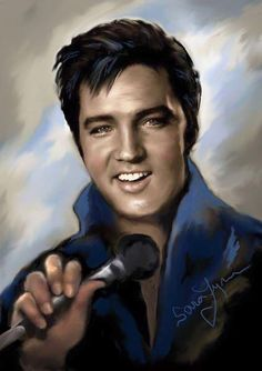 Elvis Presley Posters, Elvis Presley Pictures, Caricatures, Elvis Memorabilia, Andrea Berg, Old Movie Stars, Lisa Marie Presley, Desenho Tattoo, Celebrity Portraits