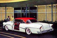 1956 Buick Roadmaster two-door Riviera Model 76R - Promotional Advertising Poster