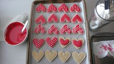 Dough and Batter: valentine's day sugar cookies - decorating tips & #5 of 7 days of sweets