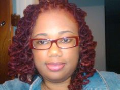 Red Locs....very nice color!