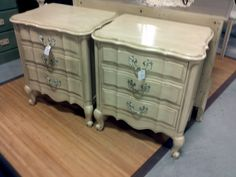 Annie Sloan  Painted French  Style Night Stands