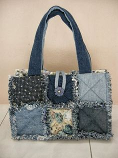 See the picz: Blue Shade Hand Made Bag