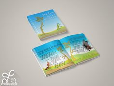 Kids illustrated story book about pollination role of Bats!