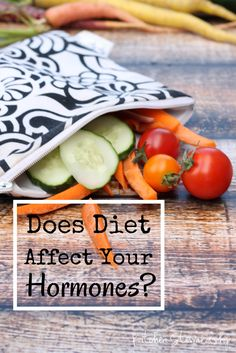 Does Diet Affect Your Hormones? How to Keep Them in Line :: via Kitchen Stewardship
