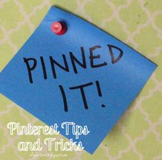 I Dig Pinterest and I Did it Too!: Pinterest Tips and Tricks