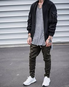 """H&M Twill """"Fog"""" Pants Olive Size 30 $50 - Grailed"""