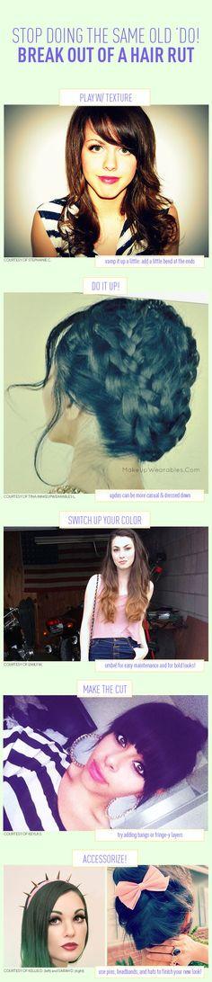 Heres How To Break Out of a Hair Rut Hör auf, das Gleiche zu tun! Heres, Hair A, Her Hair, Curled Hairstyles, Cool Hairstyles, Hair Curling Tips, Cute Beauty, Mermaid Hair, Hair Hacks, Hair Inspiration