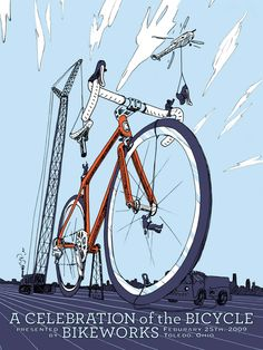 Celebration of the bicycle - cycle art