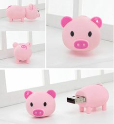 8G Pig Shaped USB Flash Drive - wonder if this is banned yet.