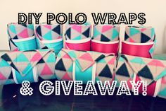 DIY polo wraps. Best tutorial I have found!