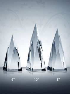 Create a custom crystal employee of the year award. Recognition Awards, Employee Recognition, Employee Awards, Award Plaques, Crystal Awards, Service Awards, Life Moments, Custom Engraving, Three Dimensional