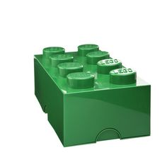 So fun - thinking of buying these for my desk! storage Brick 8 Dark Green, $36, now featured on Fab.