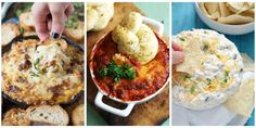 Hot & cold dip recipes. Now you're ready for any party.