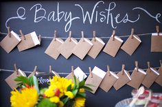 Adorable Idea for Baby Showers! via @REstyleSOURCE
