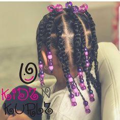 Toddler Braided Hairstyles, Cute Little Girl Hairstyles, Girls Natural Hairstyles, Baby Girl Hairstyles, Natural Hairstyles For Kids, Black Hairstyles, Children Hairstyles, Protective Hairstyles, Girls Braids