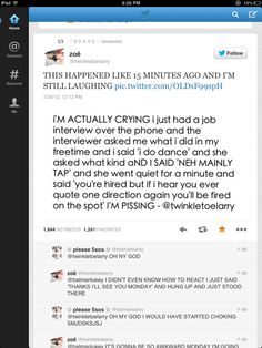 Lol. This is perfect read it! Read it my beautiful followers! Her boss knows one direction that's pretty sweet and not just knows who mentioned them she knows the reference. That's amaZAYN
