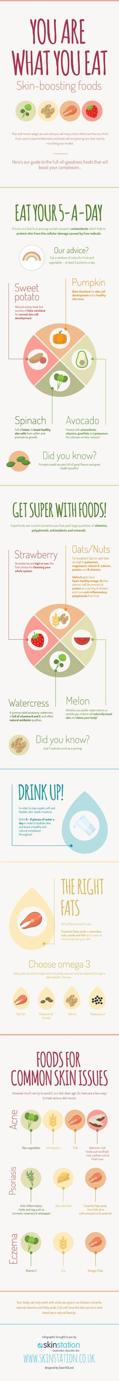 You Are What You #Eat - Do you fancy an infographic?  There are a lot of them online, but if you want your own please visit www.linfografico....  Online girano molte infografiche, se ne vuoi realizzare una tutta tua visita www.linfografico....