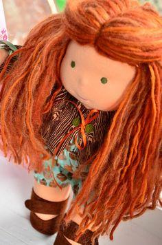I love this redhead from Bamboletta dolls!