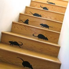 Stairway to Rat Heaven for Halloween Decorations during the Holiday!