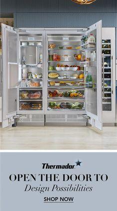 Kitchen Pantry Design, Kitchen Redo, Modern Kitchen Design, Home Decor Kitchen, Interior Design Kitchen, Kitchen Organization, Kitchen Storage, Kitchen Remodel, Beautiful Kitchens