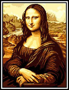 Gobelin-Embroidery-Picture-Mona-Lisa-38x50-CM-Handmade-without-yarn