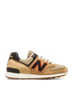 New Balance Made in USA US574 in Tan