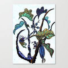 Jolie Ville Canvas Print by Marie Elke Gebhardt - $85.00