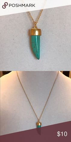 Necklace Turquoise Gold Plated High quality Jewelry Necklaces