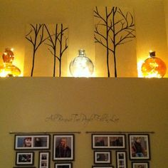 kitchen cabinet ledge decorating - Google Search                                                                                                                                                      More