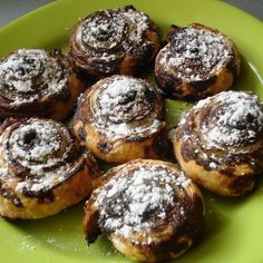 Leveles kakaós csiga II. Recept képpel - Mindmegette.hu - Receptek Pastry Recipes, Cooking Recipes, Bread And Pastries, Baked Goods, Muffin, Sweets, Baking, Breakfast, Cake
