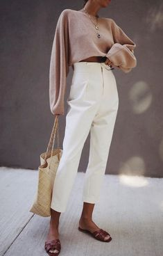 Minimalistische Outfits F R Den Fr Hling - Street Style Style Désinvolte Chic, Style Casual, Mode Style, Classy Style, Casual Chic, Classy Chic, Trendy Style, Classy Dress, Style Blog
