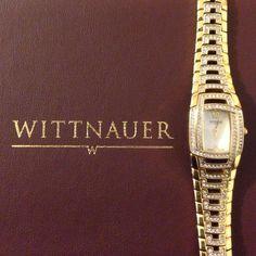 Sapphire Crystals Nib Wittnauer Watch