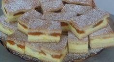 Kinder mliečny rez – rýchly a výborný koláčik bez múky! Healthy Dessert Recipes, Sweet Desserts, Sweet Recipes, Cake Recipes, Czech Desserts, Easter Biscuits, Czech Recipes, Easter Cookies, Sweet Cakes