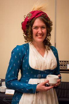 American Duchess: 1780 Indienne Gown