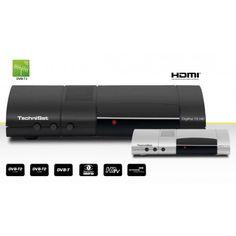 DVB-T/T2 HD Tuner (H.265) Irdeto Entschlüsselungssystem Kompaktes Gehäuse