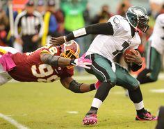 Even in a loss, Philadelphia Eagles quarterback Michael Vick soars