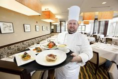 Chef Jean Pierre Leroux, at the Waterleaf Restaurant is always creating a consistently appetizing menu that keeps his guest craving more!